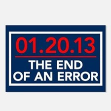 End of an Error Postcards (Package of 8)