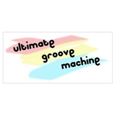 Groove Machine Canvas Art