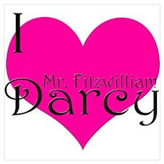 I Love Fitzwilliam Poster