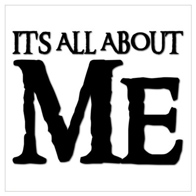 IT'S ALL ABOUT ME Poster