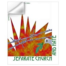 Separate Church and Hate Wall Decal