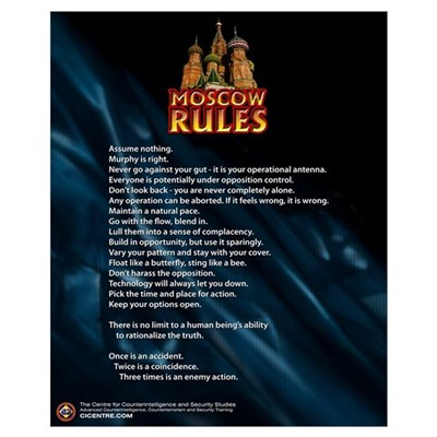 Moscow Rules 16x20 Poster