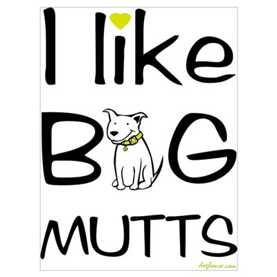 Big Mutts Framed Print