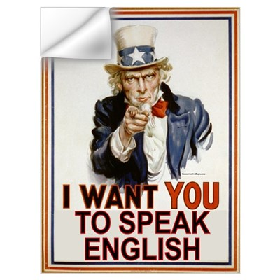 Uncle Sam Wants You to Speak Wall Decal