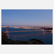 Golden Gate Bridge on New Year's Eve