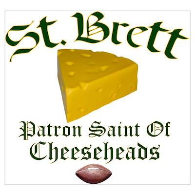 St. Brett Poster