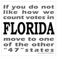 FLORIDA ELECTIONS Poster