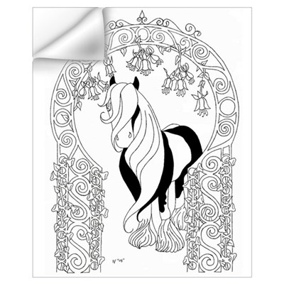 Gypsy Arch Color Your Own Wall Decal