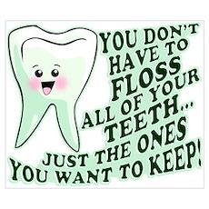 Funny Dental Hygiene Poster