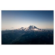 Three Peaks of Washington Poster