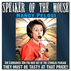 Speaker of the mouse Poster