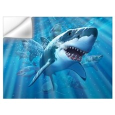 Great White 2 Wall Decal