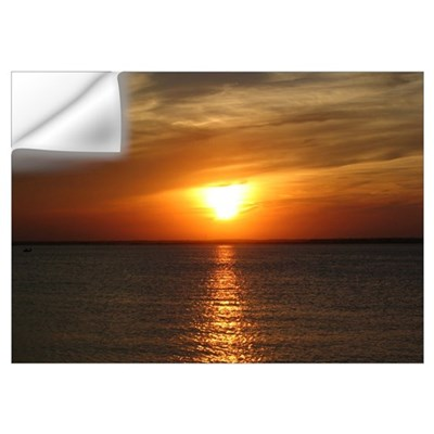 L.B.I. Sunset Print Wall Decal
