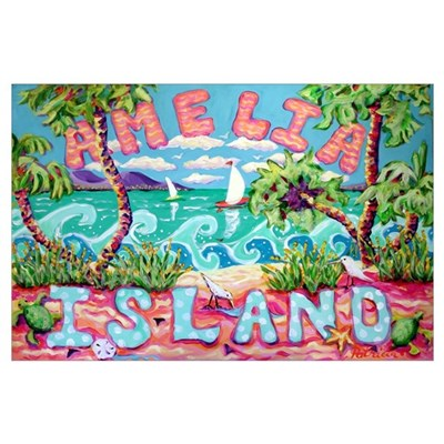 Amelia Island Poster