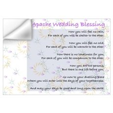 Apache Wedding Blessing Wall Decal