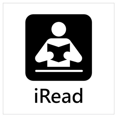iRead Canvas Art