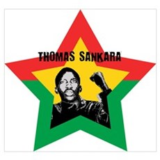 Thomas Sankara Canvas Art