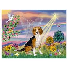 Fantasy Land & Beagle Poster