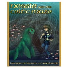 Nessie Celtic Maze 16 x 20 Poster