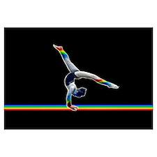 Gymnast on a Rainbow Beam