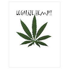 Legalize Hemp Poster