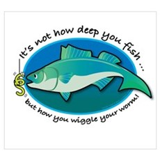 Wiggle Your Worm Poster