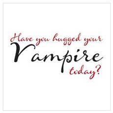 Have you hugged Your Vampire Framed Print