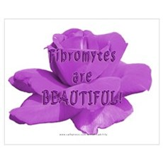 Fibromytes are beautiful Poster