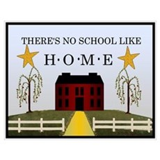 There's No School Like Home Poster