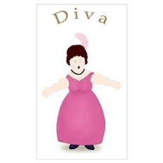 Brunette Diva in Rose Dress Framed Print