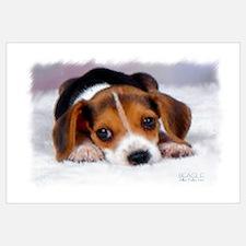 Pocket Beagle Painting Wall Art