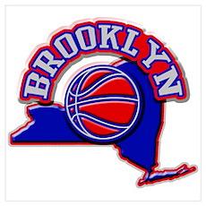 Brooklyn Basketball Poster
