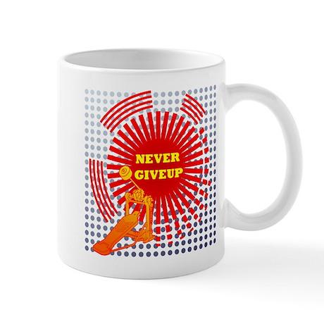 never giveup Mug
