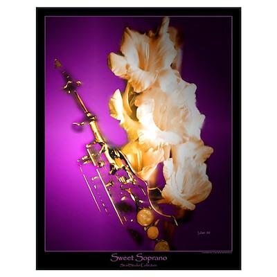 """Sweet Soprano"" (22 x 28) Poster"
