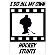 Hockey Stunts Canvas Art