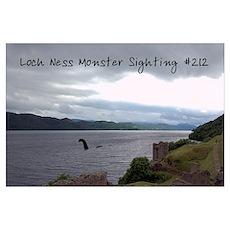 """Loch Ness Monster Sighting"" Poster"
