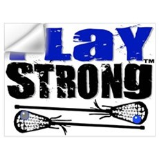 Play Strong LAX Wall Decal