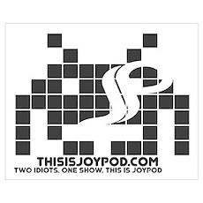 Joypod Invader Poster