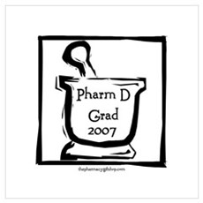 Pharm D Grad 2007 Canvas Art
