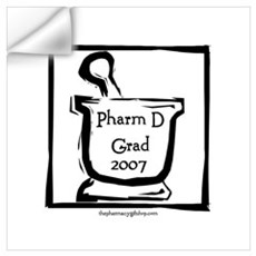 Pharm D Grad 2007 Wall Decal