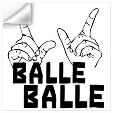 Balle Balle Wall Decal