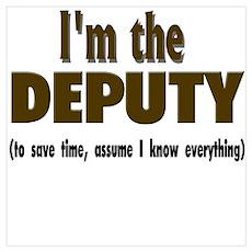 I'm the Deputy Poster