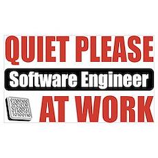 Software Engineer Work Poster