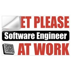 Software Engineer Work Wall Decal