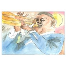 Funny Louis armstrong Wall Art