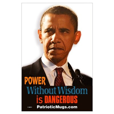 Power with out Wisdom Poster