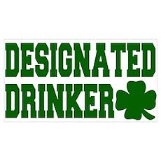 Designated Drinker Poster