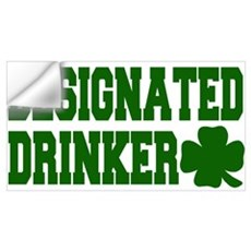 Designated Drinker Wall Decal