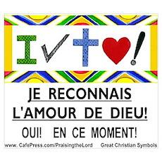 Francais: Je Reconnais! Poster