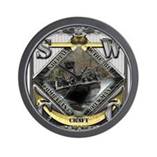 US Navy SWCC USN Wall Clock